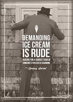 lemony snicket quotes - Google Search