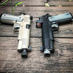 Springfield silent operator and a ed brown special forces. -