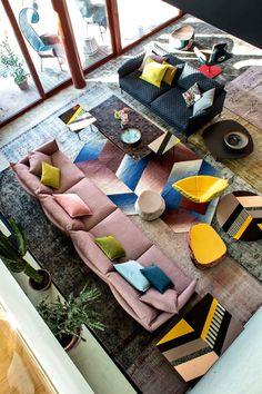 Moroso Furniture Shot Inside Patrizia Moroso's House.