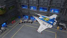 Lego Words, Lego Spaceship, Cool Lego, Retro Toys, Lego Creations, Legos, Cool Stuff, Classic, Lego Stuff