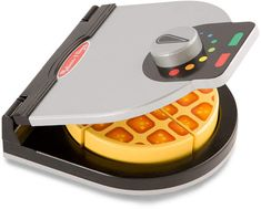 Another great find on Melissa & Doug Press & Serve Waffle Toy Set Wooden Play Food, Teaching Shapes, Play Food Set, Little Chef, Melissa & Doug, Waffle Iron, Kitchen Sets, Kitchen Stove, Toy Kitchen