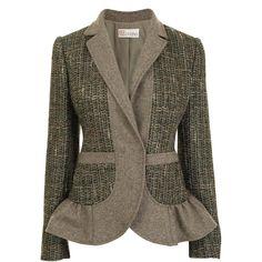 Tweed Flannel Jacket