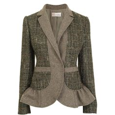 Tweed Flannel Jacket