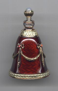 Bell shaped perfume bottle