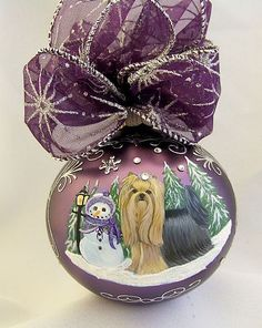 Lee Caroline - A World of Inspiration: It's a Purple Christmas this year!