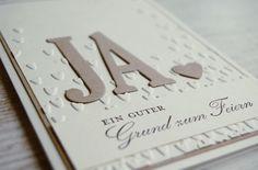 Einladungskarten - Einladung Hochzeit * Hochzeit * Hochzeitskarte - ein Designerstück von kreARTivation bei DaWanda