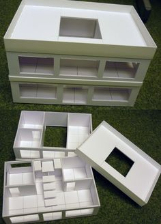 Foamcore City: Small Office Building