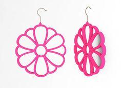 Flower Scarf Hanger - Amazing Scarf Hanging System #HangingonHangers (ebay)