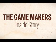 """The Game Makers: Inside Story"" is a 10-part digital series that explores the unique process of storytelling, design and directing in the constantly evolving..."