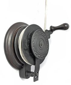 Hand Winch for Kitchen Maid� Clothes Airer - The hand winch makes easy light work of raising and lowing any of our Kitchen Maid� Clothes Airers. It simply bolts to your wall and directly replaces the cleat you would normally use.