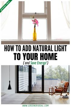 Find out how to brighten a dark room with these simple tips and ideas. You will discover that t's not hard to add natural light or to use objects to help lighten that dark room and enhance your home decor! Bringing natural light into your home means you don't have to use energy and it can brighten your mood. There are many ways you can maximize the natural light in your home and save money on energy bills at the same time. #brightenyourspace #homedecor #naturallight #homedesign #interiordesign