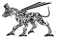 tribal_mechanical_dog_by_bluwolfee-d5g09vq.jpg (1600×1084)