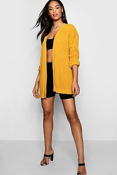 2d763bd51 Edge To Edge Waffle Knit Cardigan Sweater Cardigan, Boohoo, Waffle Knit,  Knitwear,