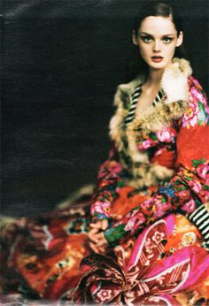 Lisa Cant by Paolo Roversi.