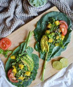 Raw Vegan Tacos || by @plantifulsoul by plantyinspo