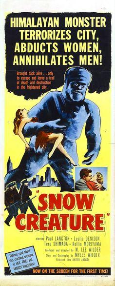 Snow Creature, 1954