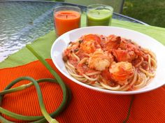Fresh Lobster Pasta! A traditional Greek Island Dish!
