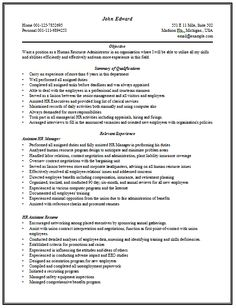 content rich resume sample for hr manager with good work experiencesee - Sample Hr Resumes