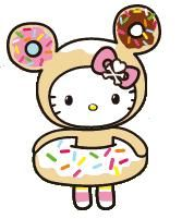 Hello Kitty as Donutella.