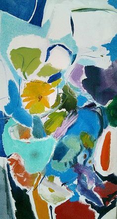 Ivon Hitchens Blue Rhapsody 1972