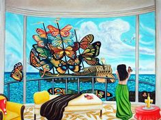 Ship of Dreams by k Madison Moore, painting by artist k. Madison Moore