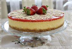 cilek soslu cheesecake