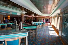 deck 6 hang out area   #NCL #Travel #Cruising #Staffa #Vacation