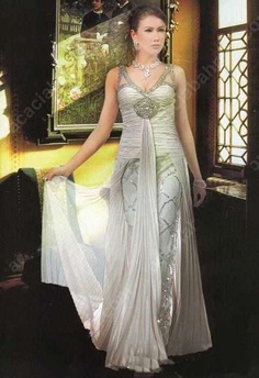 Arab wedding dress