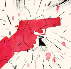 More than half of all women murdered by guns are killed by partners or family members. This Editorial argues that Congress was right to ban domestic abusers from having guns. (Illustration: Lisk Feng)