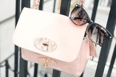 Good combination: Mulberry and Jimmy Choo