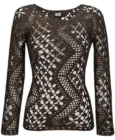 interesting lines, crochet  Gorgeous!