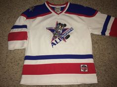 e10c59e361e Sale Vintage MICKEY MOUSE All Stars Hockey Jersey by casualisme Mickey  Mouse T Shirt
