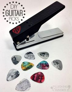 Make Custom Guitar Picks with Pick Punch! | Pluckingdaisies.com