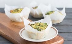 Whip these breakfast muffins up the night before and you'll have yourself a nourishing breakfast to grab and take with you for those mornings when you are on the run!