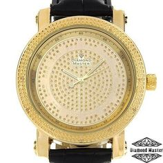 DIAMOND MASTER Brand New Gentlemens Watch With Genuine Diamonds 9235 #diamondmaster #LuxuryDressStyles