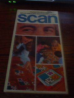 1970 Vintage Scan  Split Second Matching Game by by PAULIE22, $7.95