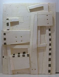 PALOMA TORRES b 1960 MEXICO CUBIST WALL SCULPTURE 2005 LATIN AMERICA