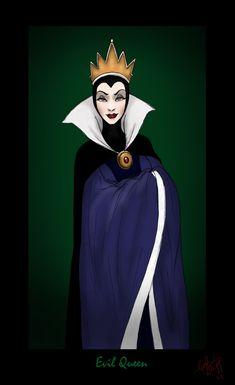 Evil+Queen+from+Snow+White+by+Sammybunny711.deviantart.com+on+@deviantART