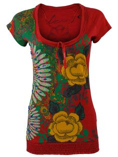Desigual Damen Shirt Cherain Neue Kollektion XL Short Sleeve Dresses, Dresses With Sleeves, Colourful Outfits, Shirts, Clothing, Color, Fashion, Colorful Clothes, Women's