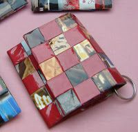 It's been quite a while since I did any paper weaving, but these little purses sold quite well at the market last Christmas, so I decided it...