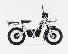 UBCO's 2x2 electric off-road utility bike is a tool hauling vehicle