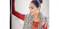 WWE Diva Brie Bella Winter Wonderland ❄️ Glam/Photo