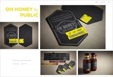 Oh Honey Business Cards