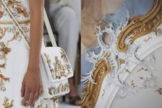 Match #185 Details at Chanel Haute Couture Fall 2014 |Stuccoby Peter on Flickr More matches here