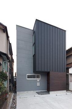 狭小地・変形地に建つ家