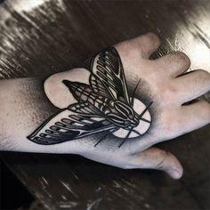 Concept Moth Tattoo by Brando Chiesa