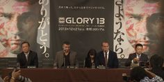 Video: GLORY 13 Tokyo - Press conference