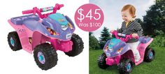 Power Wheels Nickelodeon Dora & Friends Lil Quad $45 Shipped (Was $100) - http://www.swaggrabber.com/?p=305716