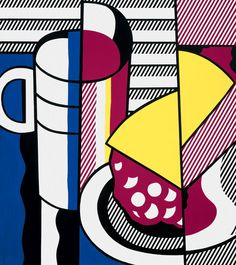 Still Life with Cherry Pie, 1975, Roy Lichtenstein