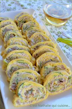 Quiches, Omelettes, Omelette Roulée, Zucchini, Party Sandwiches, Cuisine Diverse, Croissant, Ratatouille, Finger Foods